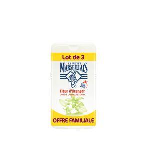 Le Petit Marseillais Gel Douche Crème Fleur d'Oranger - Le Lot de 3 Flacons de 250 ml
