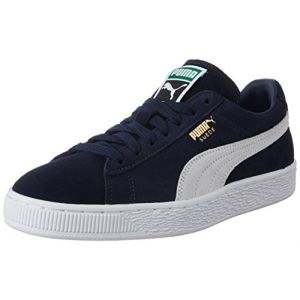 Puma Suede Classic - Baskets Mode - Mixte Adulte - Bleu (Peacoat/White 51) - 42 EU