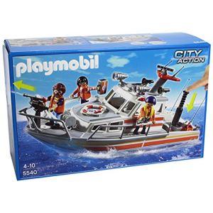 Playmobil 5540 City Action - Bateau de sauvetage
