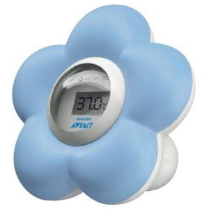 Philips Avent SCH550 - Thermomètre numérique bain et chambre pour bébé