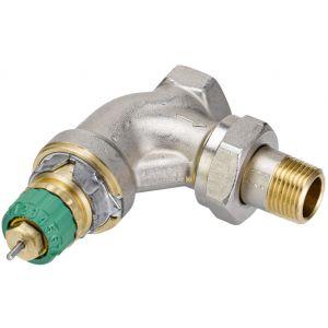 "Danfoss Corps de robinet radiateur équerre 1/2"" RA-DV 15 Dynamic Valve 013G7713"