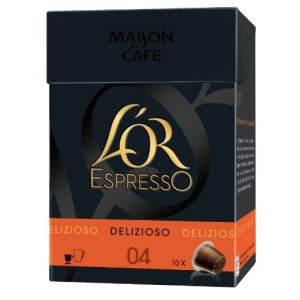 L'OR Espresso 10 capsules Delizioso (intensité 4)