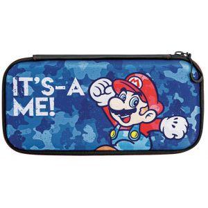 PDP Sacoche Housse case pour Nintendo Switch Mario Camo Edition