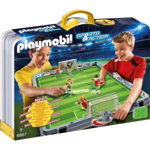 Playmobil 6857 Sports et Action - Terrain de Football transportable