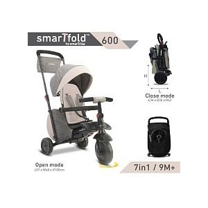 SmarTrike SmartFold 600 - Tricycle pliant