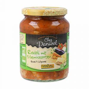 Danival Raviolis aux légumes 670 g