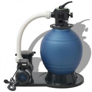 VidaXL Pompe de filtration à sable 1000 W 22500 l/h