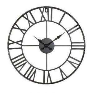 Horloge murale en métal Vintage 40 cm