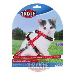 Trixie Parure harnais et laisse pour chaton Kitty, 21-33 cm