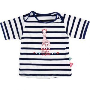 Mayoparasol Tee-shirt anti-UV manches courtes Sophie la Girafe en croisière garçon (24 mois)