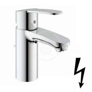 Grohe 33561002 Eurostyle Mitigeur monocommande lavabo pour chauffe-eau ouvert sous evier, chrome