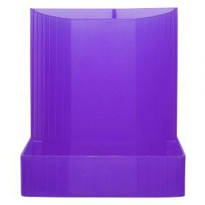 Exacompta 67519D linicolor Pot à crayon Violet translucide