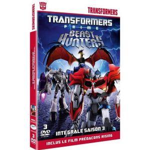 """Coffret transformers prime, saison 3 : """"Le règne de Mégatron"""" et """"L'ultime affrontement"""" + le film """"Prédacons rising"""" - DVD ( Neuf )"""