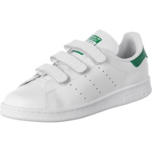 Adidas Stan Smith CF, Baskets Basses Homme, Blanc FTWR White/Green, 49 1/3 EU
