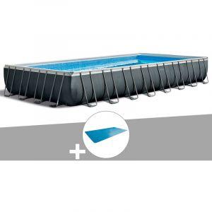 Intex Kit piscine tubulaire Ultra XTR Frame rectangulaire 9,75 x 4,88 x 1,32 m + Bâche à bulles