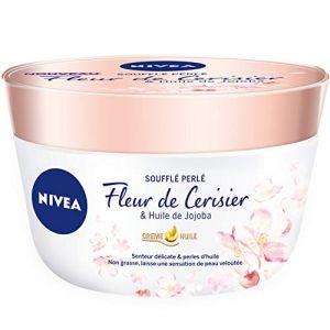 Nivea Soufflé perlé Fleur de Cerisier & Huile de Jojoba - Crème huile
