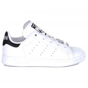 Adidas Stan Smith Blanche Et Noire Enfant 34 Baskets