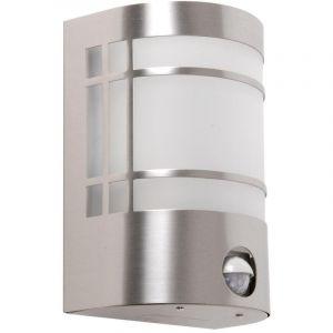 Harms Applique luminaire mural extérieur détecteur de movement inox verre terrasse