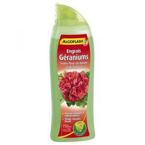 Algoflash Engrais géraniums et toutes fleurs de balcon - 750 ml