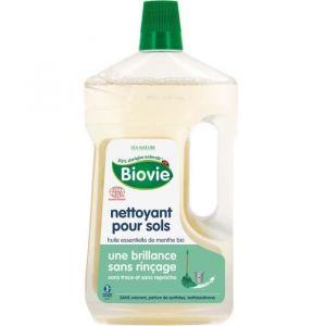 Biovie Nettoyant Multi-Surfaces à l'Huile de Menthe Bio 1 L - Lot de 2