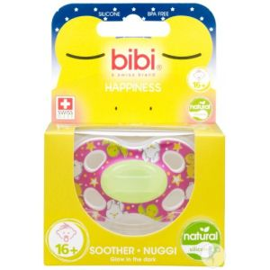 Bibi Happiness dental Glow in the dark sucette 16+