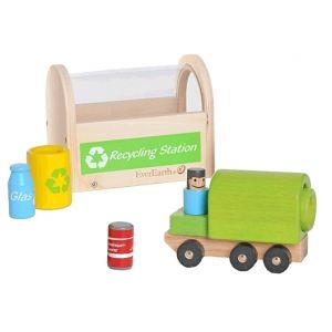 Image de EverEarth Camion & station de recyclage en bois