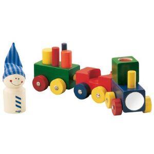 Haba Petit train en bois lokmock