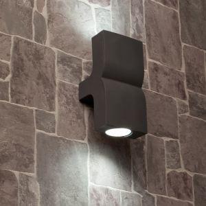 Faro 74408 - Applique extérieure Klamp 2 lampes en fonte d'aluminium