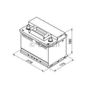 Bosch 0092S30080 - Batterie de démarrage