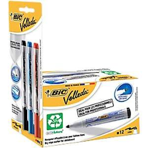 Bic Velleda1701marqueurs Ecolutions pour tableau blanc