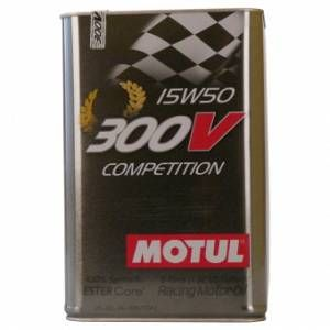 Motul 103920 Huile Moteur 300 V Competition 15 W de 50, 5 l