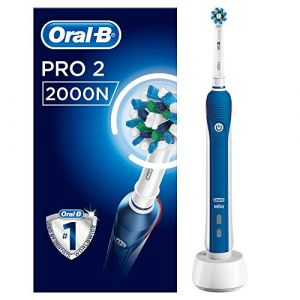 Oral-B Braun PRO 2000/ PRO 2 - 2000N CrossAction 2-Mode Rechargeable Electric Toothbrush