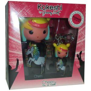 Kokeshi Parfums Cherry by Jeremy Scott - Coffret eau de toilette et porte-clé