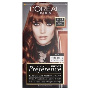 L'Oréal Coloration - Préférence Infinia Colour Extender - 6.45 Brooklyn Intense Cooper Auburn