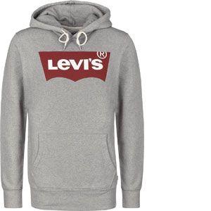 Levi's Graphic Po Hoodie- B, Sweat-Shirt À Capuche Homme, Gris (HM Pop Co Midtone Heather Grey 0037), Large
