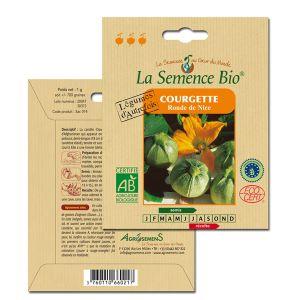 La Semence Bio Graines de Courgette bio ronde de Nice
