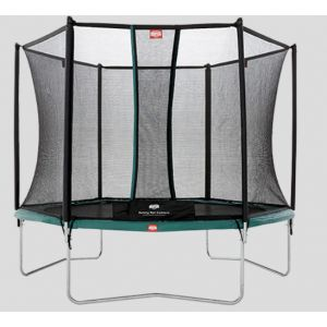 Berg Toys Trampoline Talent 300 cm avec Safety Net Comfort