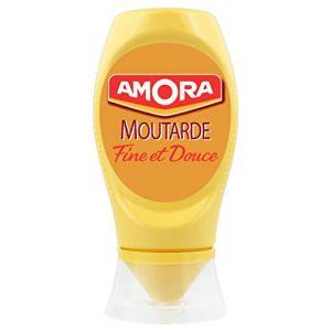 Amora moutarde douce flacon souple 260 g