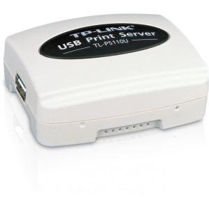 Image de TP-Link TL-PS110U - Serveur d'impression Fast Ethernet avec 1 port USB 2.0