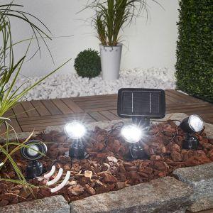 Esotec Spot solaire Trio Pir