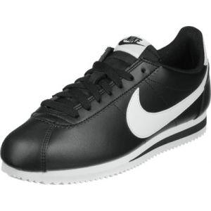 Nike Classic Cortez Leather W chaussures noir blanc 40 EU