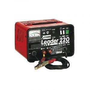 Telwin Chargeur de batterie et démarreur Leader 220 - batteries WET/START-STOP tension 12/24V