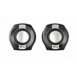 Trust Polo Compact 2.0 - Système d'enceintes stéréo compactes avec sortie de 8 W (4 W RMS)