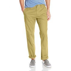 Volcom Frickin Modern Stret Pantalon Homme, Beige