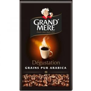 Grand'mère Dégustation Café en Grains 1,5 kg - Lot de 3 x 500 g