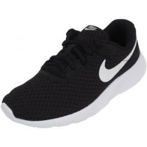 Nike Tanjun (GS), Baskets Garçon, Noir (Black/White-White 011), 36.5 EU