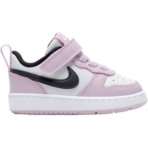 Nike Chaussures basses - Court borough low 2 vlc - Gris/rose Enfant 23.5