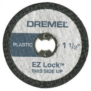 Dremel SC476 - EZ SpeedClic : pack de 5 disques à tronçonner pour la découpe des plastiques.