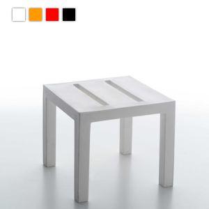 Serralunga Table basse de jardin Handy 45 en polyéthylène 45 x 45 x 40 cm