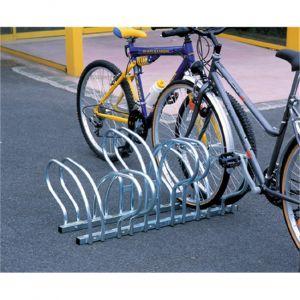 Mottez Râtelier range 6 vélos au sol face à face B196C